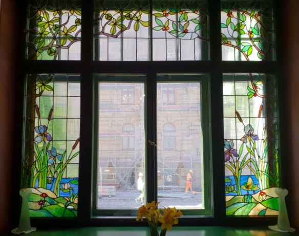vitraux art nouveau riga