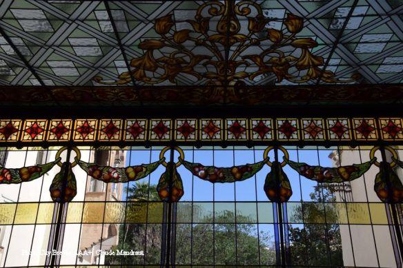 véranda de la casa alegre de sagrera terrassa