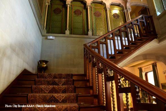 cage d'escalier Casa Alegre de Sagrera