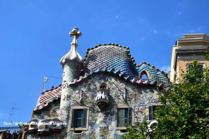 Casa Batlo gaudi barcelone