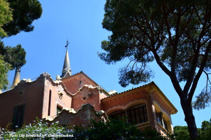 maison de Gaudi park Güell