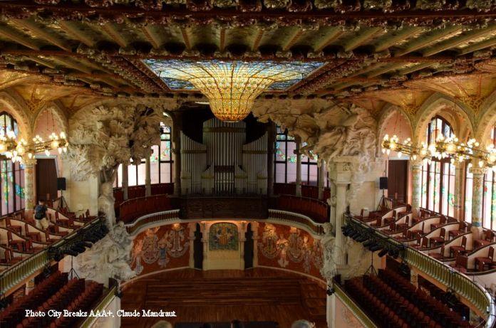 ensemble palais musique catalane verrière