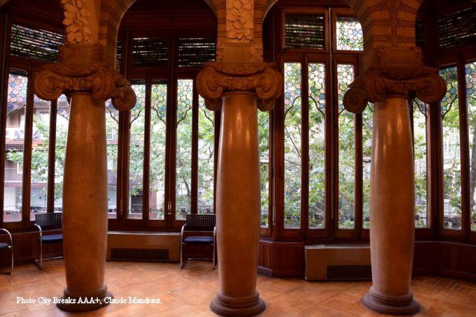 salon du palais Baro de Quadras