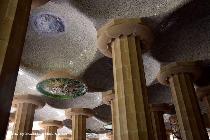 salle hypostyle du park Güell