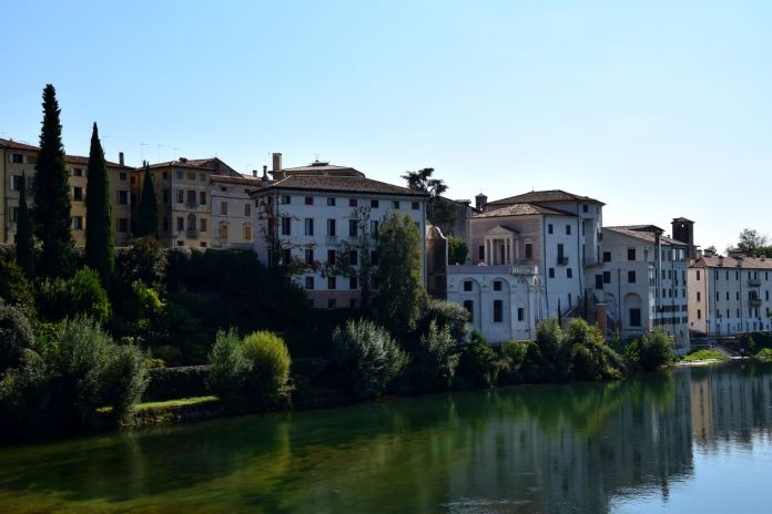 BassanodelGrappa, Italie, Italy, Brenta