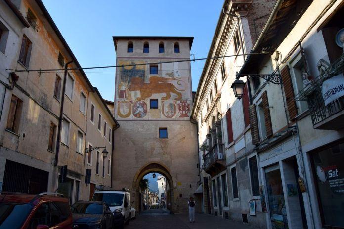 BassanodelGrappa, Italie, Italy, porte