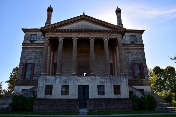 Brenta, Italie, Italy, VillaFoscari, colonnes