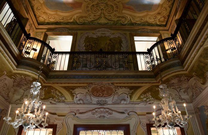 Brenta, Italie, Italy, VillaWidmann, intérieur