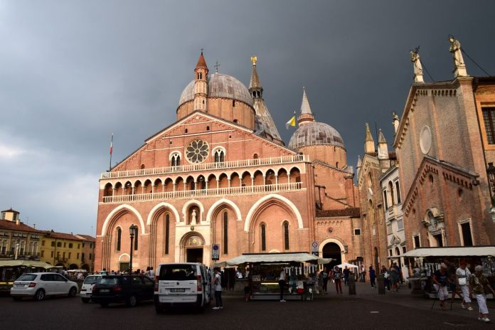 Padoue, Padova, Italie, Italy, BasilicadelSanto, façade