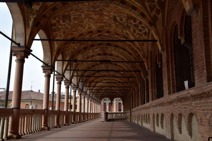 Padoue, Padova, Italie, Italy, PalazzodellaRagione, galerie