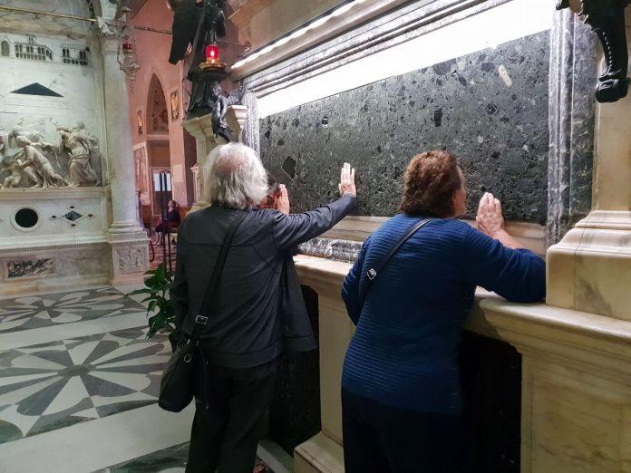 Padoue, Padova, Italie, Italy, BasilicadelSanto, tombeau