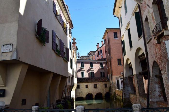 Trévise, Treviso, Italie, Italy, pont
