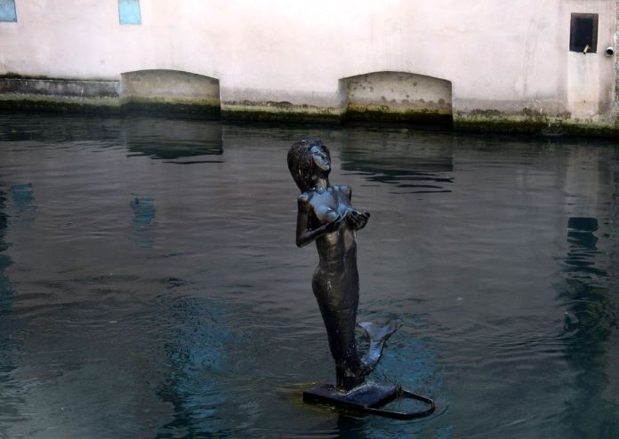 Trévise, Treviso, Italie, Italy, Petitesirène, Littlemermaid