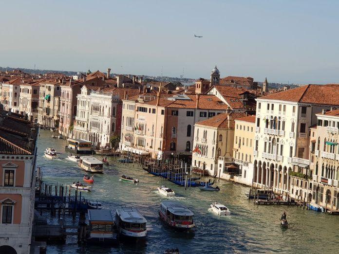Venise, Venice, Italie, Italy, FondacodeiTedeschi, architecture