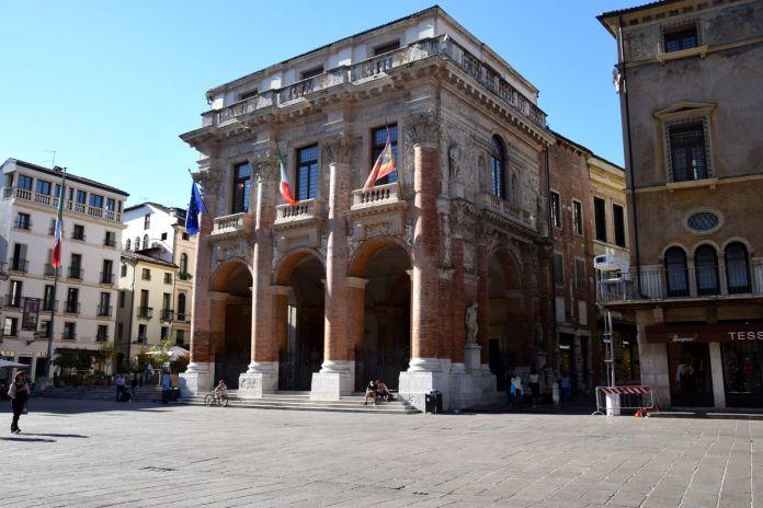 Vicence, Vicenza, Italie, Italy, LoggiadeiCapitaniato, Palladio