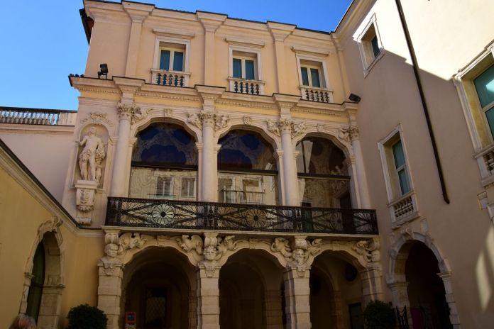 Vicence, Vicenza, Italie, Italy, PalazzoLeoniMontanari, Palladio