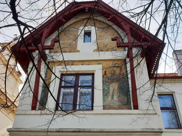 Prague, villa, JanKoula