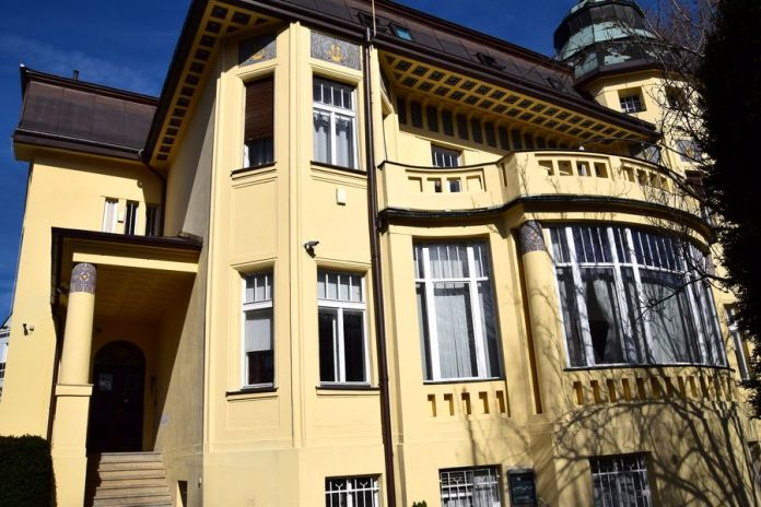 Prague, Sécession