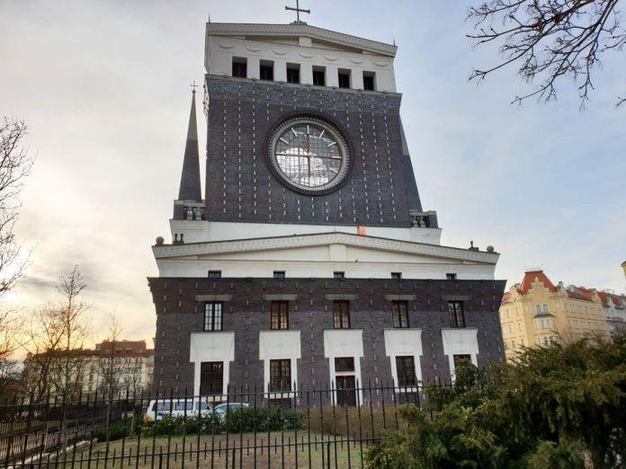 Prague, horloge, SacréCoeurdeJésus