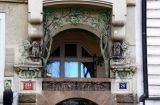 Prague, Masryk, ArtNouveau, hiboux