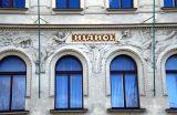 Prague, fresque, ArtNouveau, Masaryk
