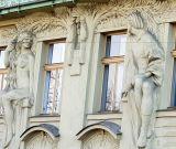 Prague, ArtNouveau, exotisme, Masaryk