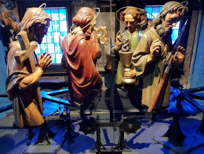 Prague, apôtres, horloge astronomique