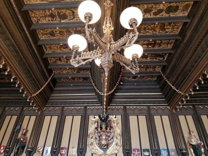 Prague, ancienne salle du conseil