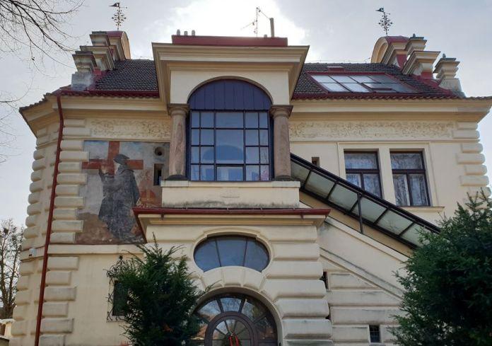 Prague, hauteur, décor