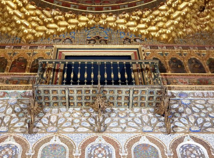 Séville, Alcazar, décors
