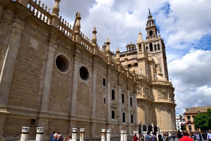 Séville, cathédrale, côté