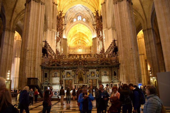 Séville, cathédrale, nef