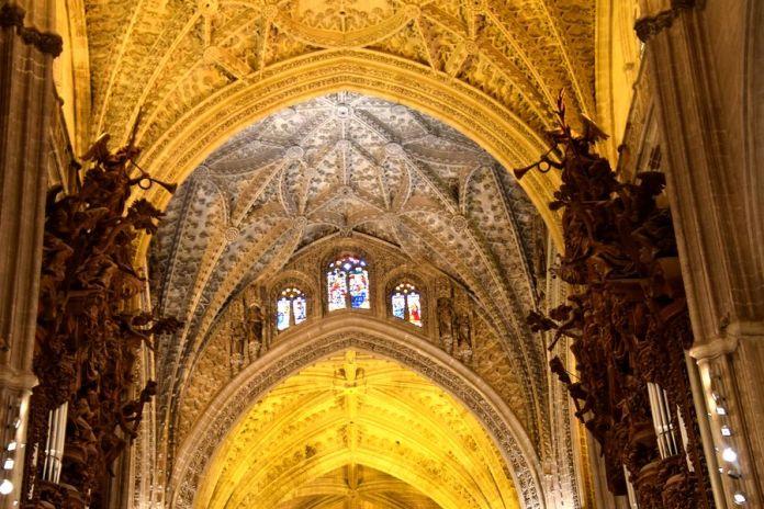 Séville, cathédrale, voûtes