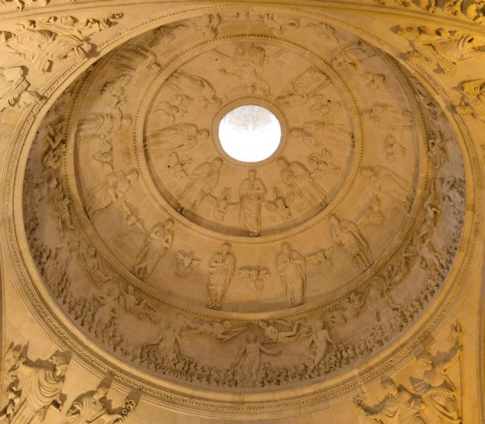 Séville, coupole, sacristie, cathédrale