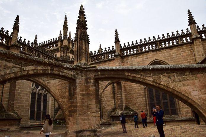 Séville, toits, cathédrale