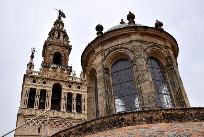 Séville, Giralda, clocher