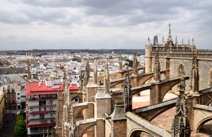 Séville, cathédrale, construction