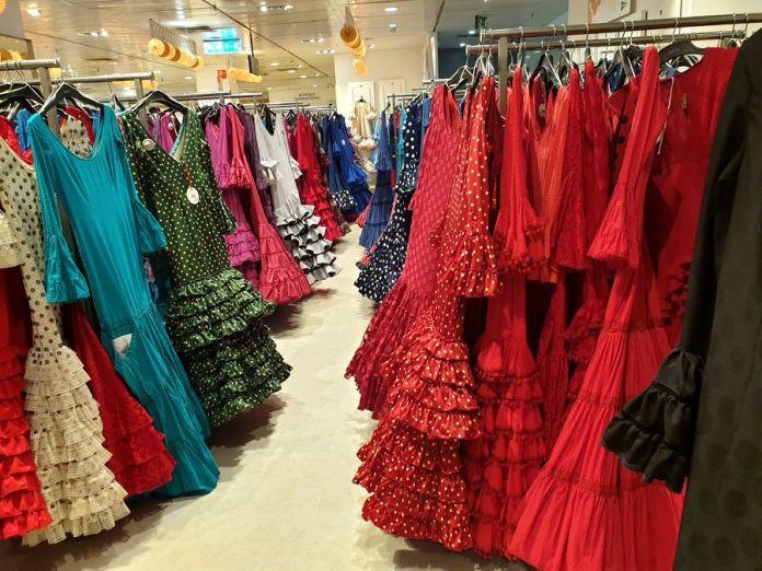 Séville, Feria, robes