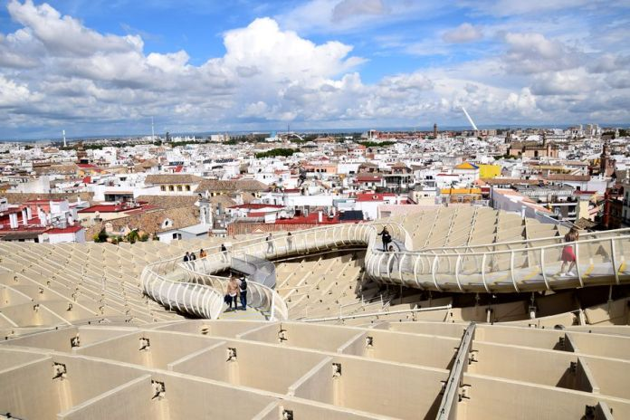 Séville, Setas, panorama
