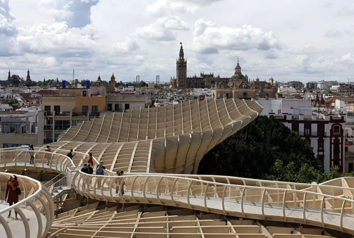 Séville, Setas, Giralda, Cathédrale
