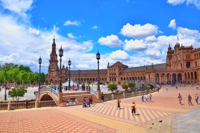 Séville, place, despagne, AnibalGonzalez