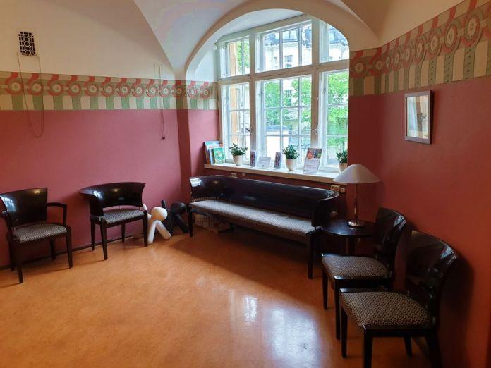 salle d'attente hôpital Eira Helsinki