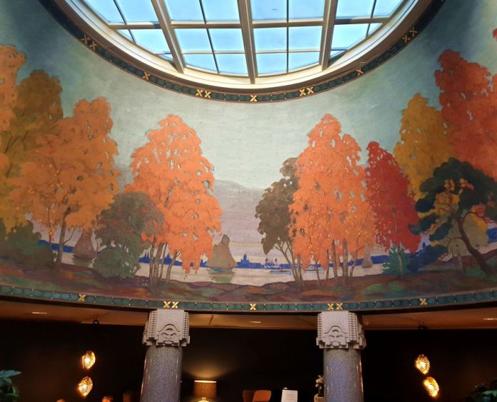 fresque jugend hall Helsinki