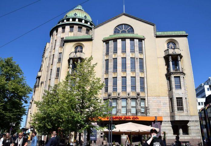 nouvelle maison des étudiants Helsinki