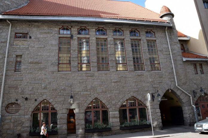façade union des étudiants de polytechnique helsinki