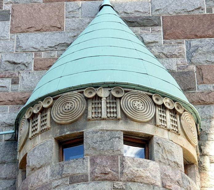 décor ancienne poste Helsinki