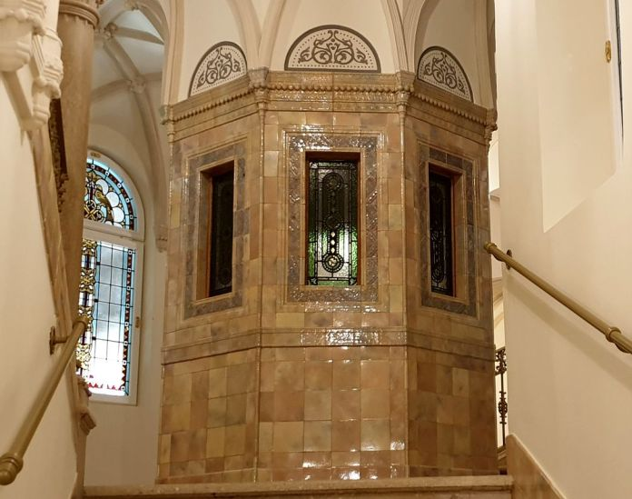 ascenseur Parisi Udvar Budapest