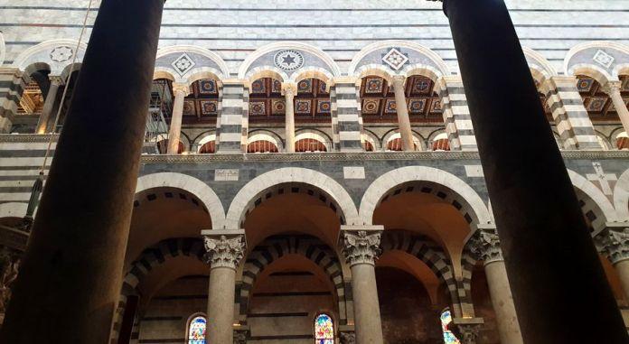 cathédrale de pise intérieur