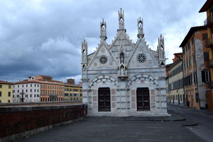 église santa maria della spina pise