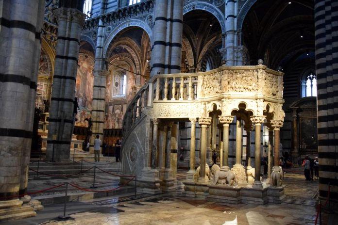 chaire cathédrale de sienne